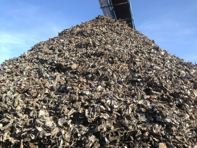 Shredded Steel ISRI 211 , 210
