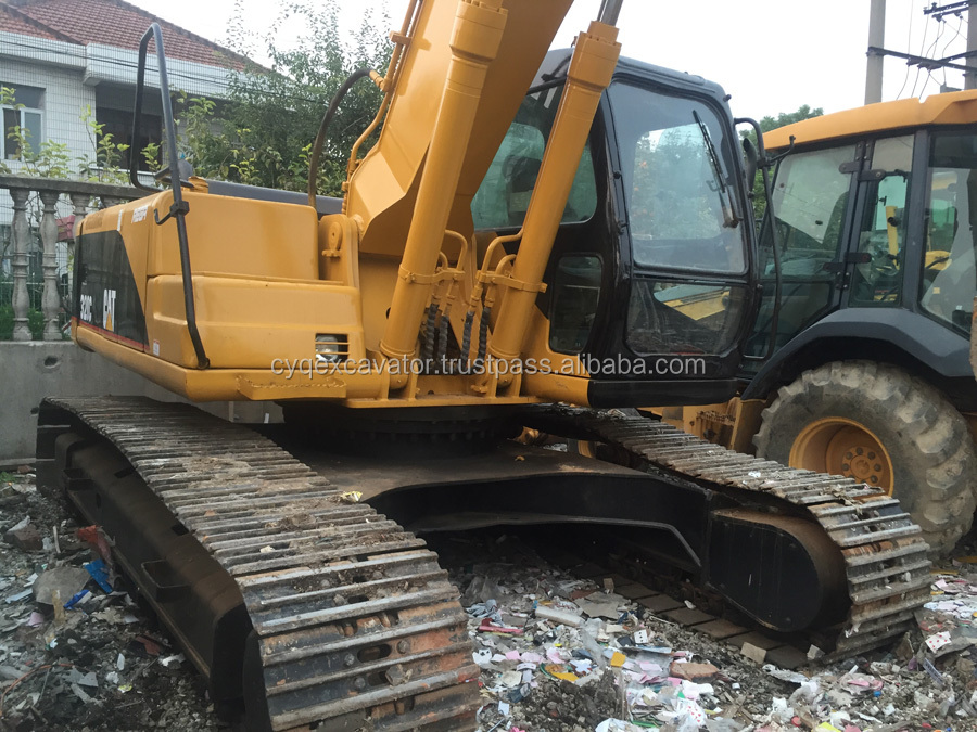 Secondhand Caterpillar 320C Crawler Excavator Ready For Sale