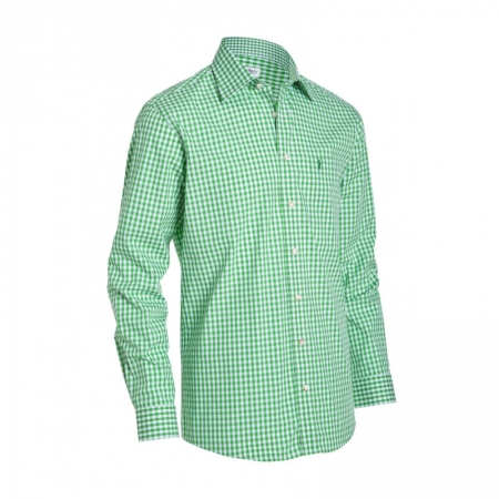 Wholesale Traditional Shirts/Trachten Bavarian Festival Cotton Checked Sialkot Pakistan Oktoberfest Men Herren Shirt 44