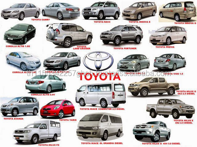 WE SALE ALL TOYOTA USED CARS FOR JAPAN & SOUTH KOREA