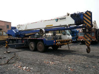 55 ton TADANO GT550E Japan's original used truck crane for sale