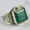 925 Emerald Gemstone Silver Jewellery