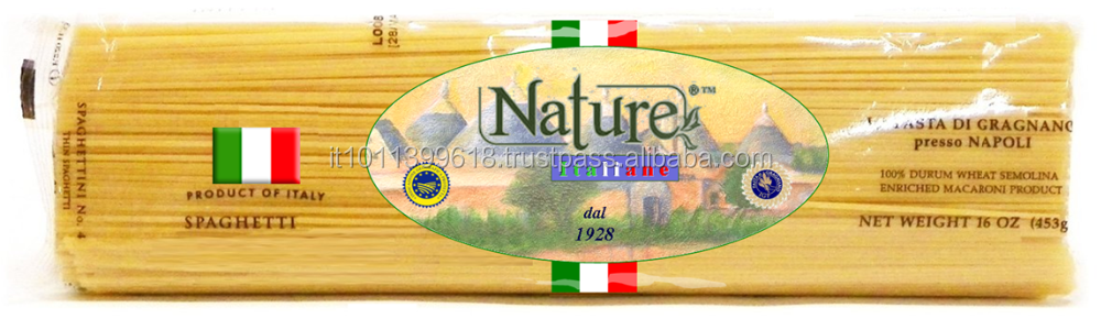 MACARONI PASTA 100 % MADE IN ITALY