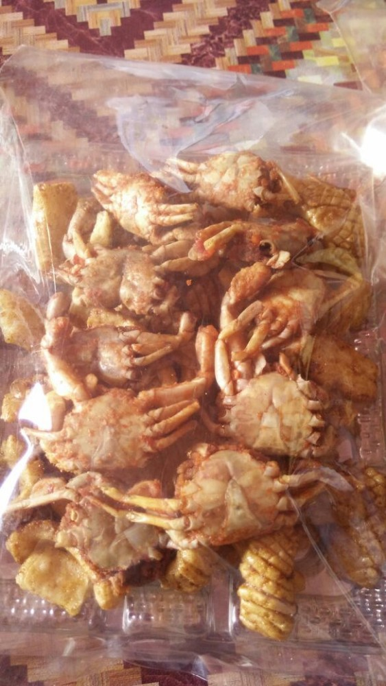crab small crackers