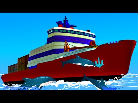 Ship | Cargo Ship | Transport for Kids
