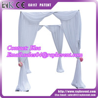 Hot sale mandap adjustable pipe and drape kits used pipe and drape frame for sale