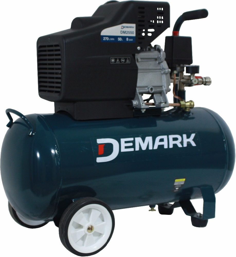 Demark (Germany) Portable Air compressor 8 Bar 50L DM 2550, Big amount supply, any country