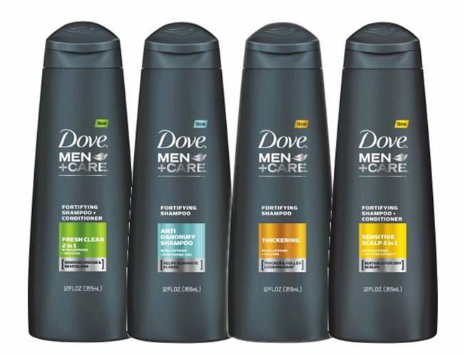 Dove Hair Shampoo Men + Care Fortifying Shampoo
