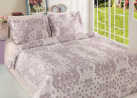 ORLY COTTON SATIN QUILT COVER SET OF 6 PCS