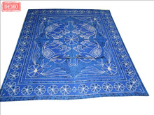 Blue Elephant Printed Mandala Tapestry Indian Wall Decor Art Throw Bedspread Tapestry
