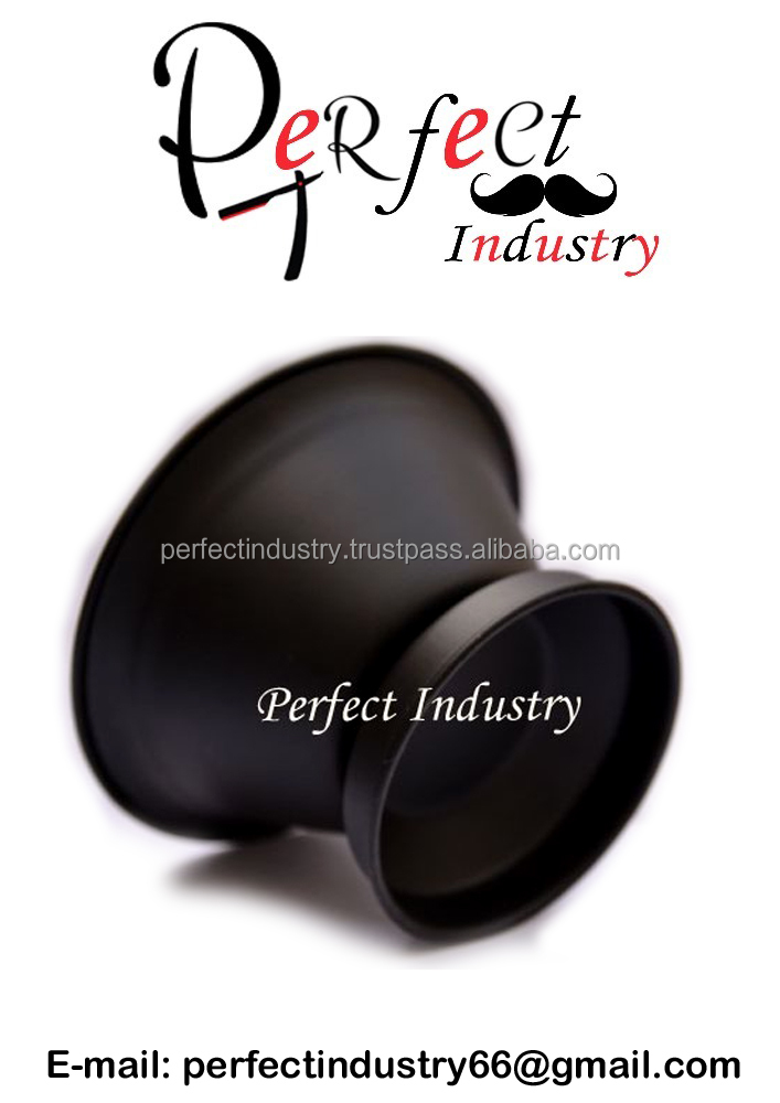 Professional matte black shaving bowl