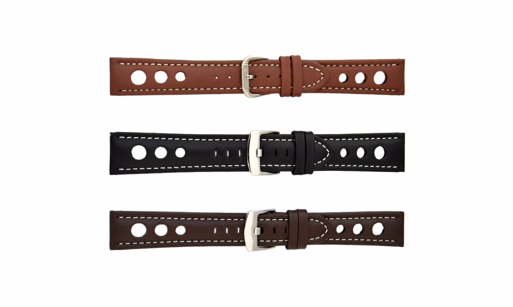 Rallye Watch Strap with 3 big rallye holes