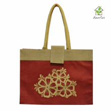 promotional customised FANCY JUCO BAG MANUFACTURER with all over printing