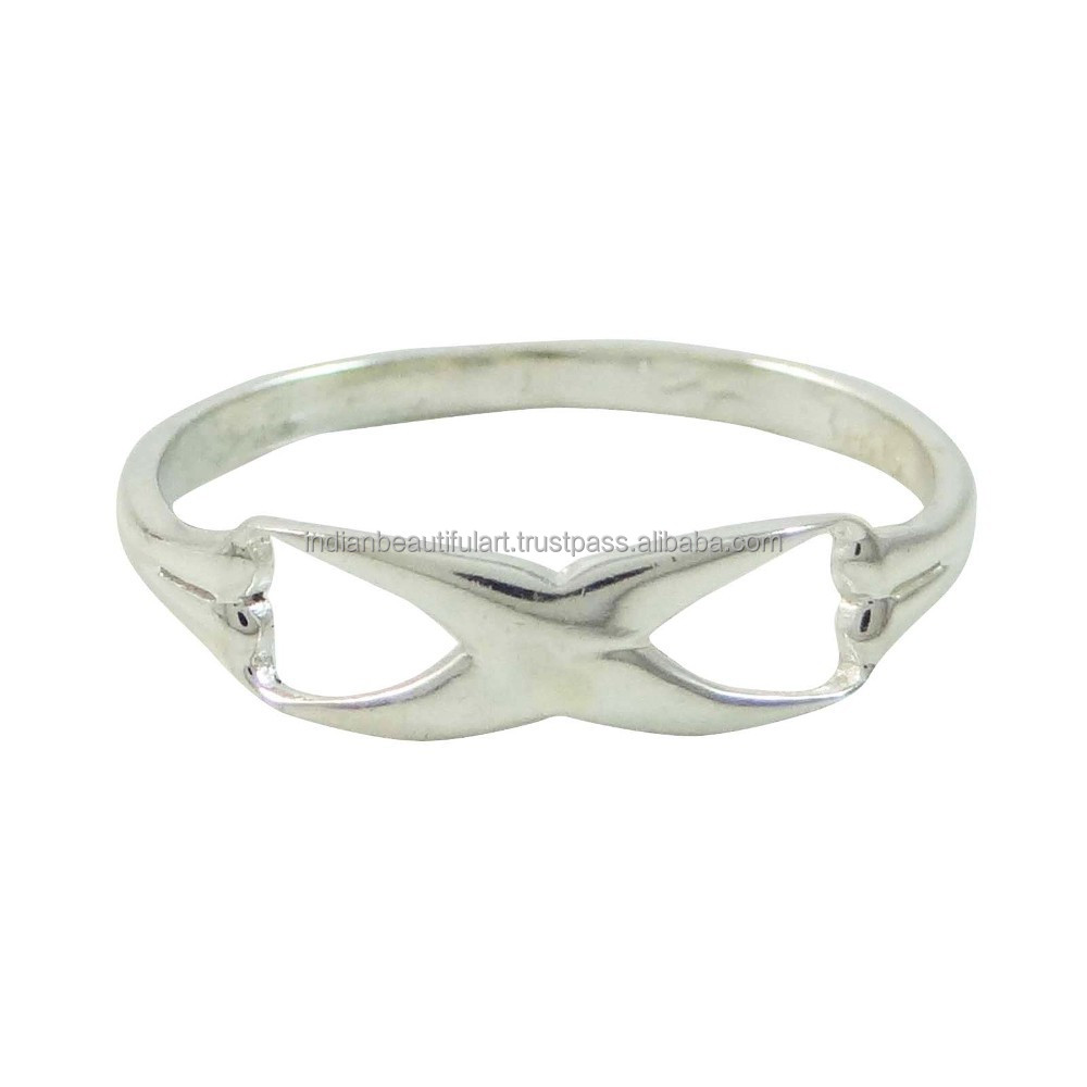 Sterling Silver Fashion Size Ring For Women Marked 925 Indian Jewellery SZ 7