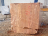 Red Travertine - Block, G
