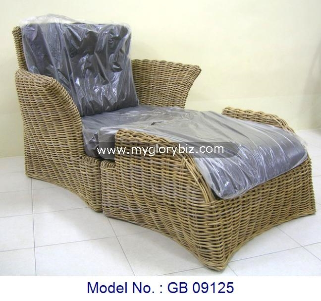 Rattan Sofa For Home Furniture, Modern Indoor Furniture, Indoor Rattan Furniture