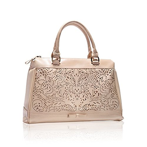 crystal perforated handbag by oriflame