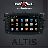 "OEM ANDROID HEAD UNIT 8"" CAPACITIVE TOUCH FIT FOR TOYOTA ALTIS 2014"