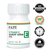 Vitamin E Soft Capsule with Wheat Germ Oil (GMP Certified)
