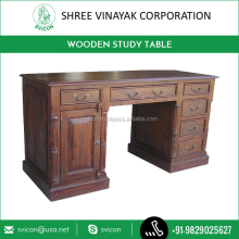 Premium Quality New Classical Antique Nature Wooden Study Table Designs