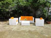 High Quality premium rattan wicker sofa set, living room and outdoor furniture