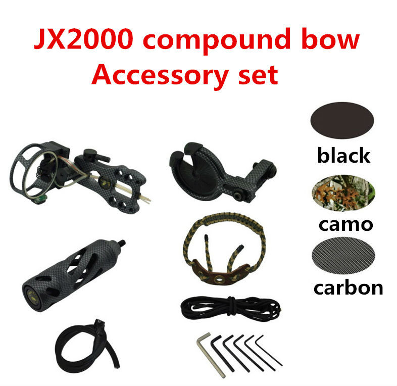 jx2000 compound bow accessory set_