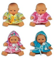 MINI BABY DOLL W/ROBE #027716L