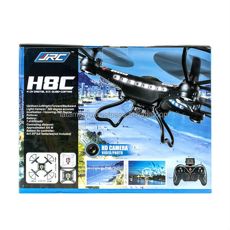 JJRC H8C helicopter drone unmanned aerial rc planes for sale buy a drone ready to go