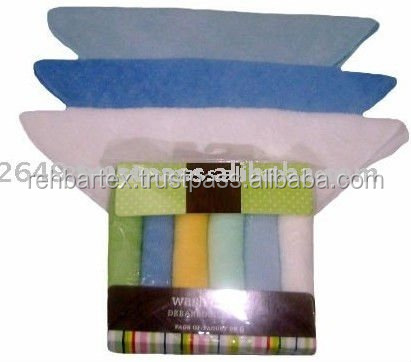 80% Cotton:20% polyester knitted terry Baby Wipes