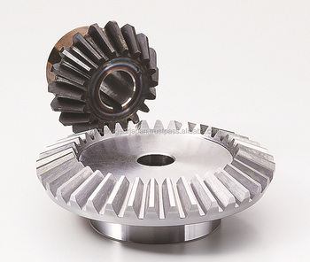 Bevel gear Module 2.0 Ratio 3 Carbon steel Made in Japan KG STOCK GEARS