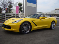 B/NEW CHEVROLET CORVETTE Z51 CONVERTIBLE DEALER CAR (LHD 820145 GASOLINE)