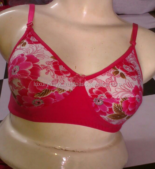 Lady printed bra