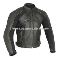 Best Quality 100% Genuine Leather Jacket Brando Biker Motorcycle: All Sizes