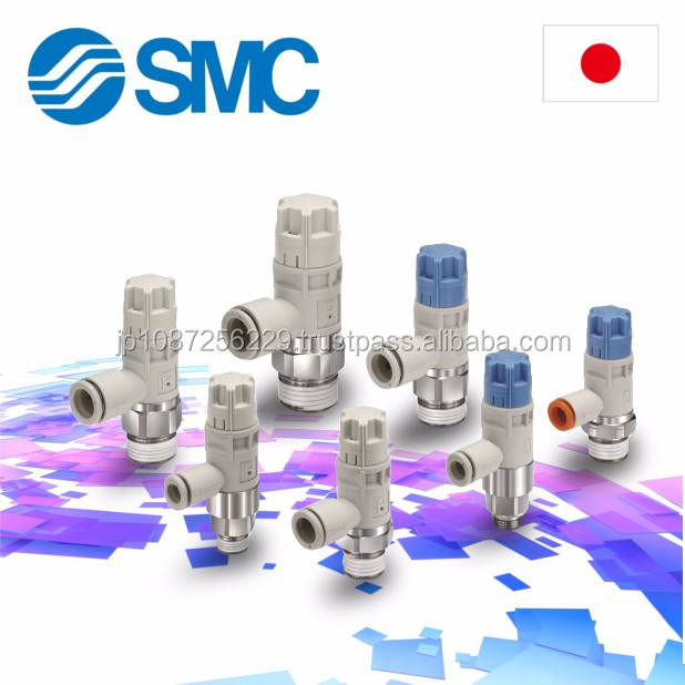 "SMC High quality 1/4"" speed controller for industry , Air cylinder also available"