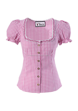 NEW Women German Trachten Bavarian Oktoberfest Traditional Shirts BAYERN BLOUSE