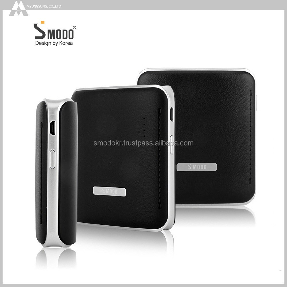 2017 hot selling leather surface power banks with small size stylish appearance portable battery charger