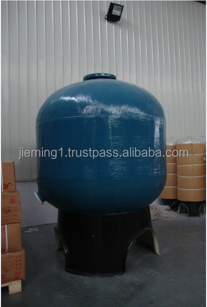 different colors and sizes FRP tanks and vessels with PE liner/plastic water tank machine/water softener frp tank/2016