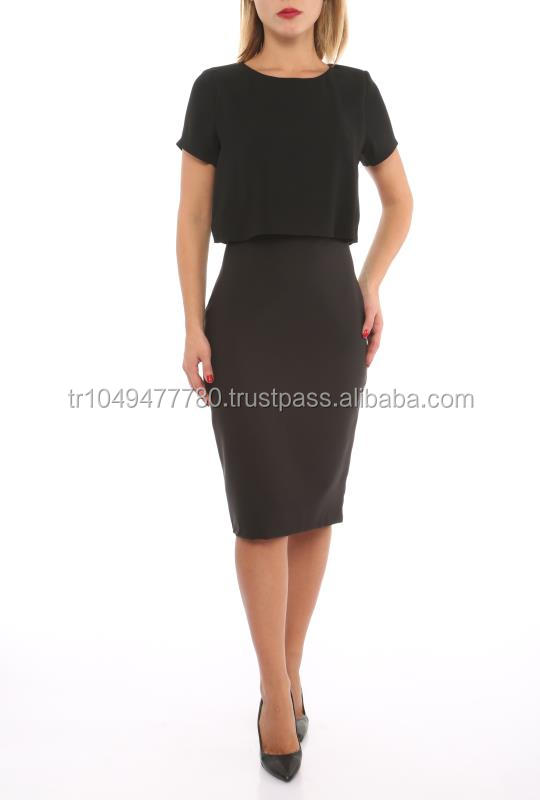 wholesale office style dresses made in Turkey