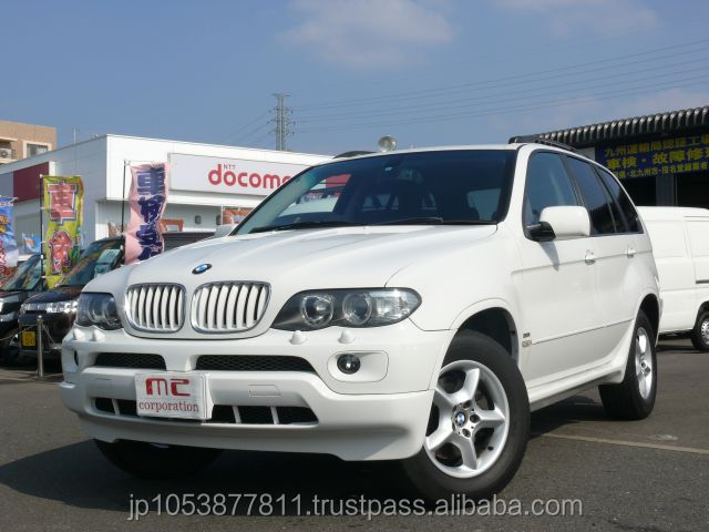 Popular and Reasonable suv second hand car BMW X5 2004 used car with Good Condition