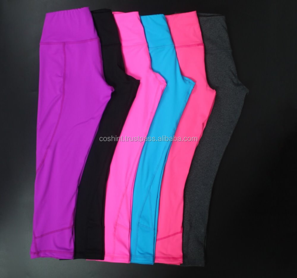 Ladies Gym Pant / Custom Printing Compression Leggings Dri-Fit Running Tight Pants Active Wear, Fitness Wear, Yoga Wear,