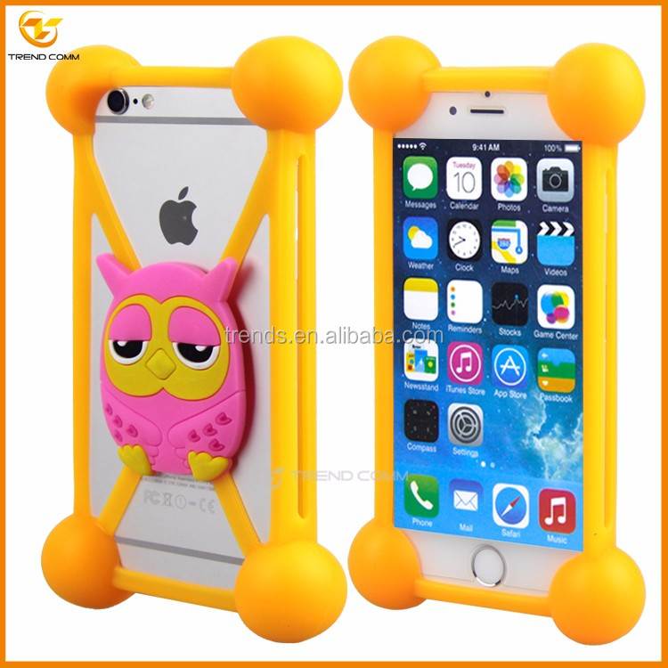 Drop Light universal silicone bumper cover case for iphone 6