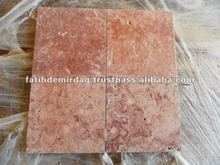 Red Travertine - Brushed