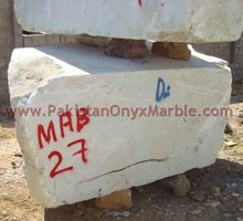 NATURAL STONE AFGHAN WHITE MARBLE MONOLAMA BLOCKS