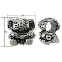 Koala Stainless Steel Beads