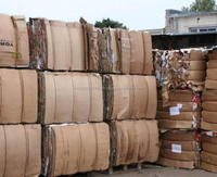 Clean OCC used waste paper import for recycling made inThailand