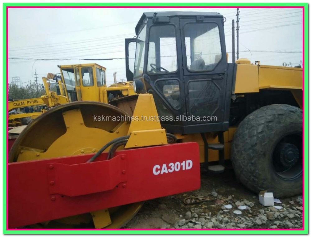 road roller dynapac CA301D used asphalt rollers for sale new roller price