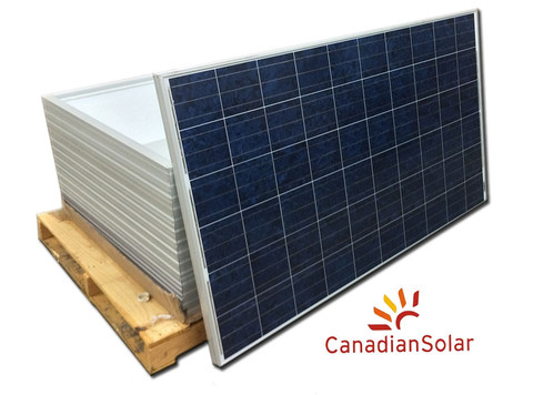 monocrystalline & polycrystalline canadian solar panel at factory price