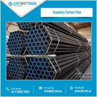 High Sturdiness Seamless Carbon Pipe Available with Robust Construction