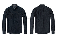 denim shirts - casual banded collar denim shirts for men mens denim ca...