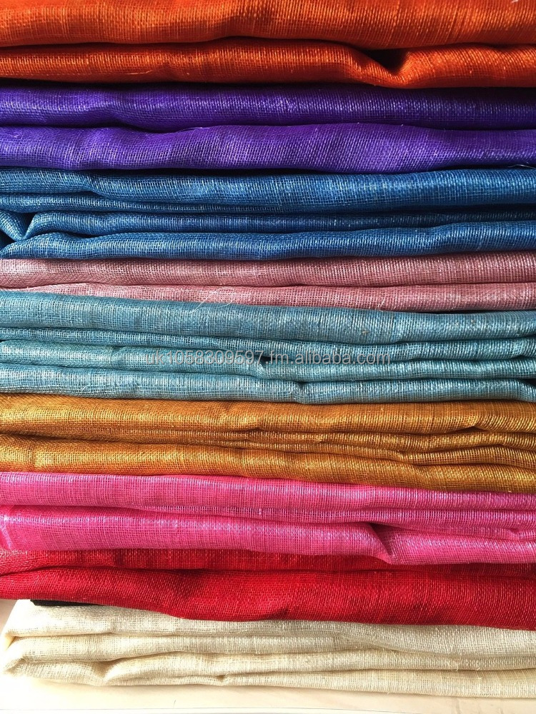 "SINAMAY FABRIC- For Hats & Craft use Various Colours 36""x10 yards"